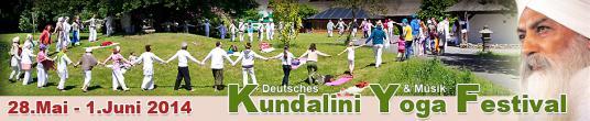 Deutsches Kundalini-Yoga-Festival 2014 in Oberlehte retreat in Wardenburg - photo 0