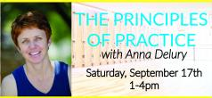 The Principles of Practice - Iyengar w/Anna Delury retreat in Beverly hills - photo 1