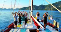 Yogacruising in the Turkish Coast retreat in Muğla - photo 8
