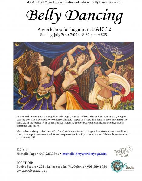 Belly Dance Workshop for Beginners