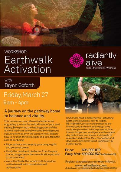 Earthwalk Activation