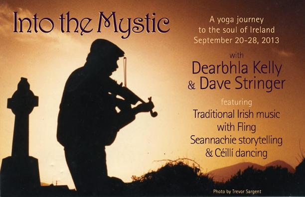 Into the Mystic: Yoga, Music and Irish Culture Retreat with Dearbhla Kelly and Dave Stringer
