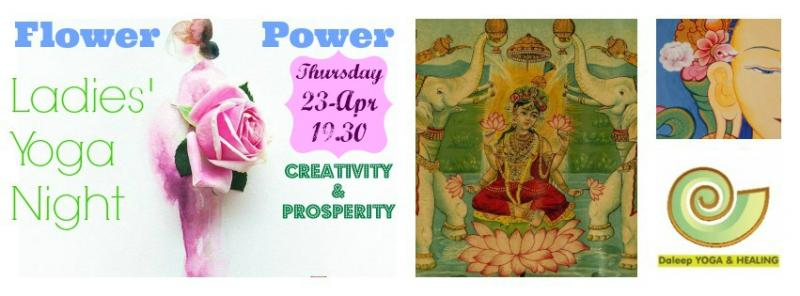 Flower Power Ladies' Yoga Night
