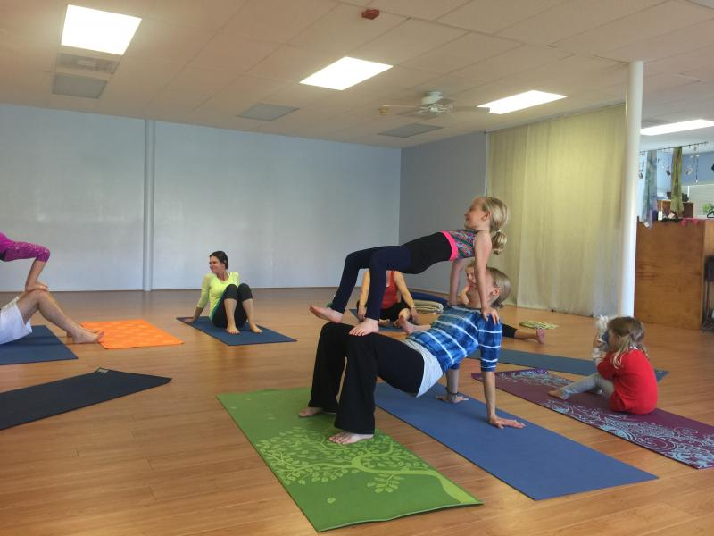 Family Yoga at Circusoul