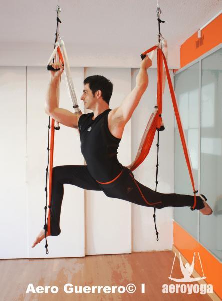 Yoga Aérien© France, Stage Professionel AeroYoga® Avec Rafael Martinez Juin 2014