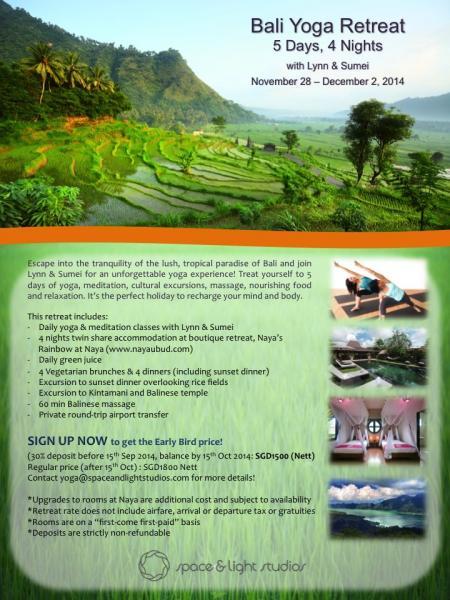 Bali Yoga Retreat with Lynn & Sumei