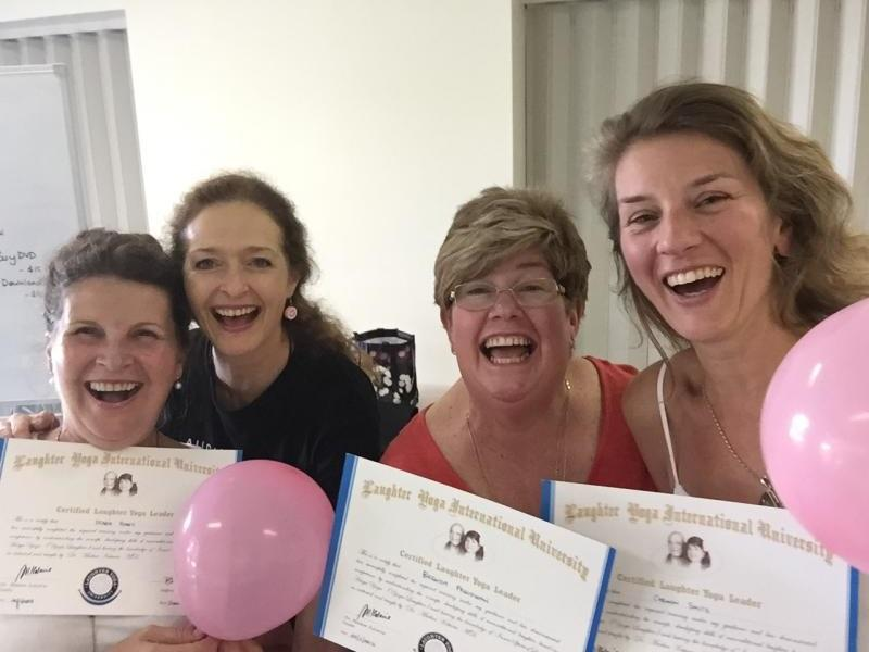 Certified Laughter Yoga Leader Training