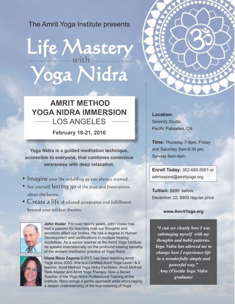 Yoga Nidra Immersion