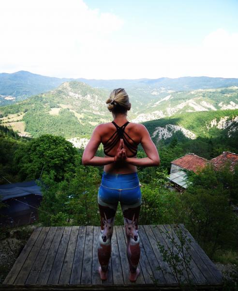 Yoga and Hiking, Tuscany, Italy