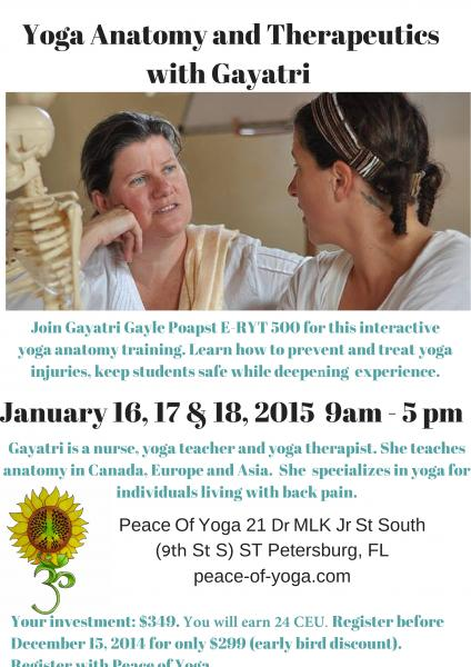 Yoga Anatomy and Therapeutics with Gayatri