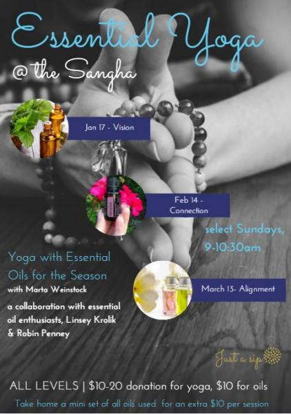Essential Oil + Yoga: VISION: ALIGN YOUR YOGA PRACTICE WITH YOUR GOALS