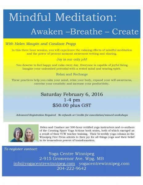 Awaken - Breathe - Create