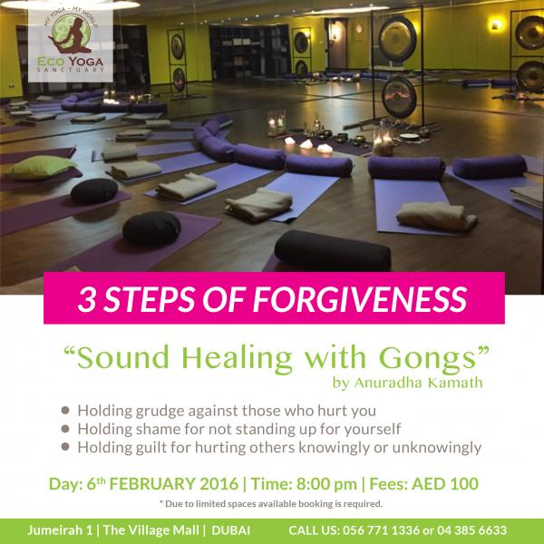 3 Steps to Forgiveness - Gong Meditation