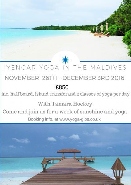 Iyengar Yoga Holiday in the Maldives