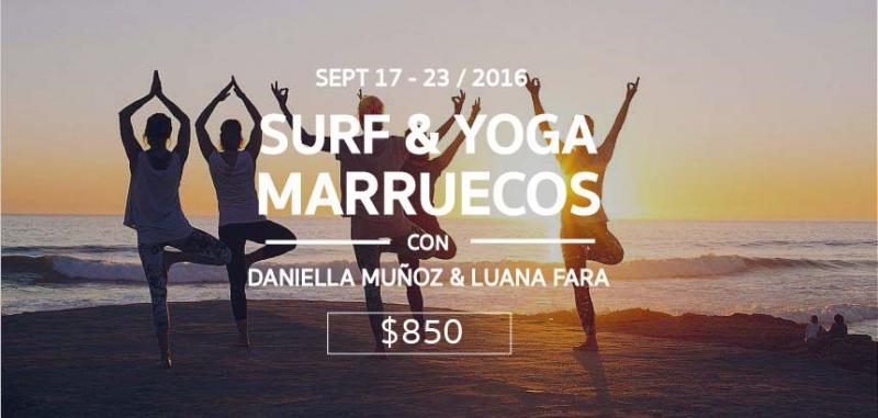 Surf  & Yoga Marruecos con Daniella Munoz & Luana Fara