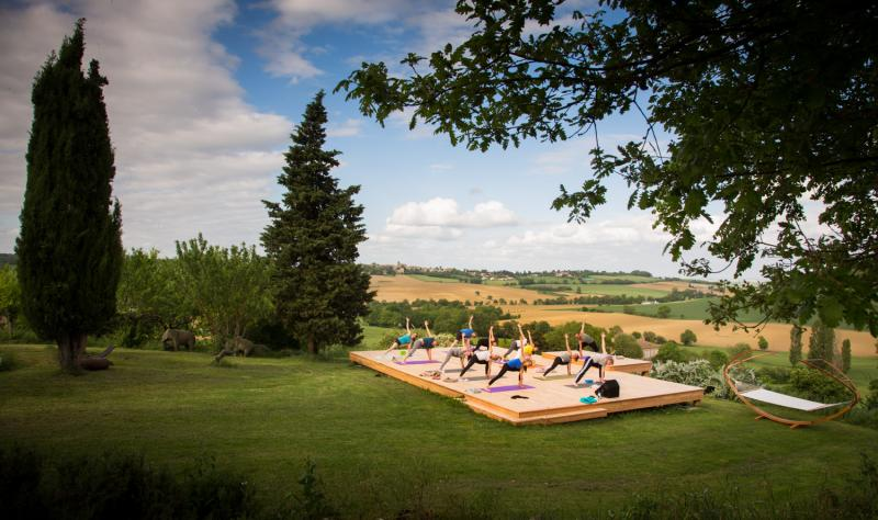 Pecae through Power Vinyasa Yoga Retreat in Southwest France