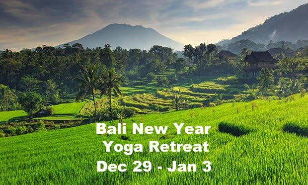 Bali New Year Yoga Retreat