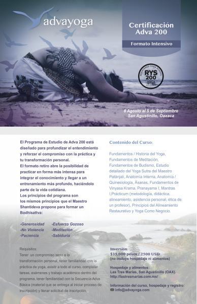Certificación Adva 200 en San Agustinillo.