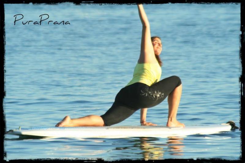 Paddle Yoga Class