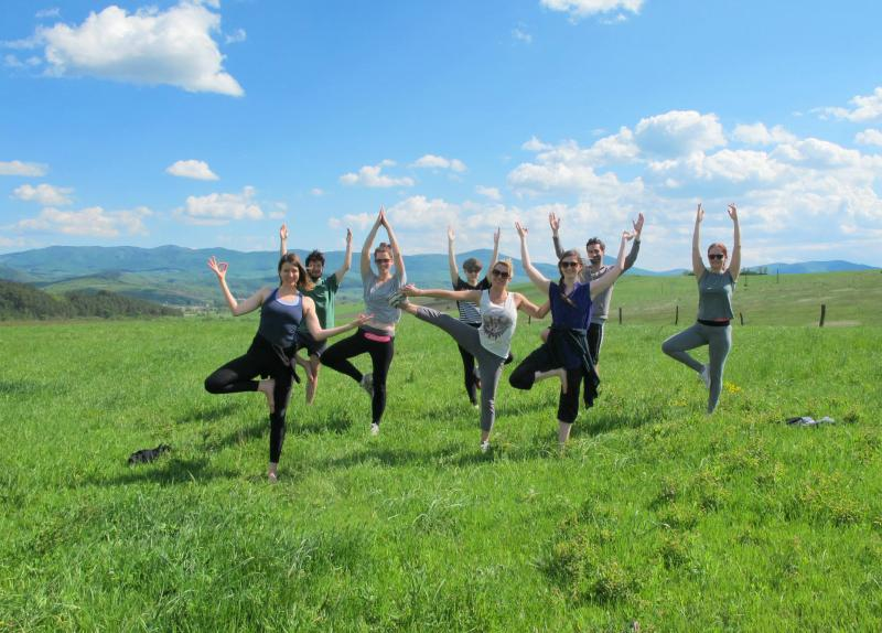 Slow down and heal -- yoga weekend