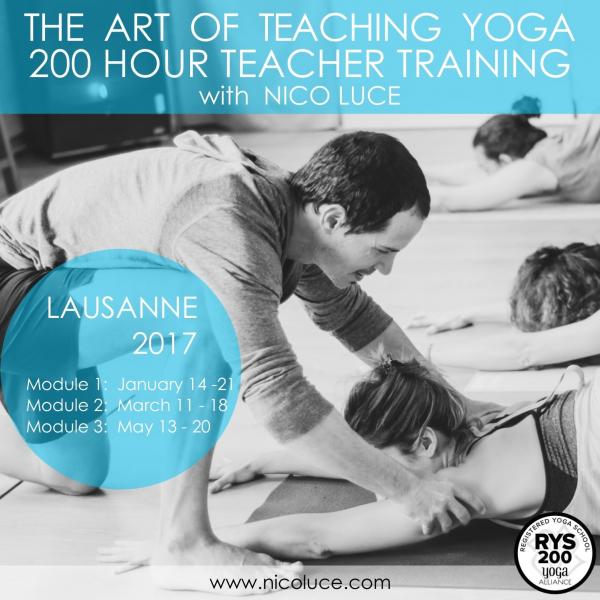 The Art of Teaching Yoga