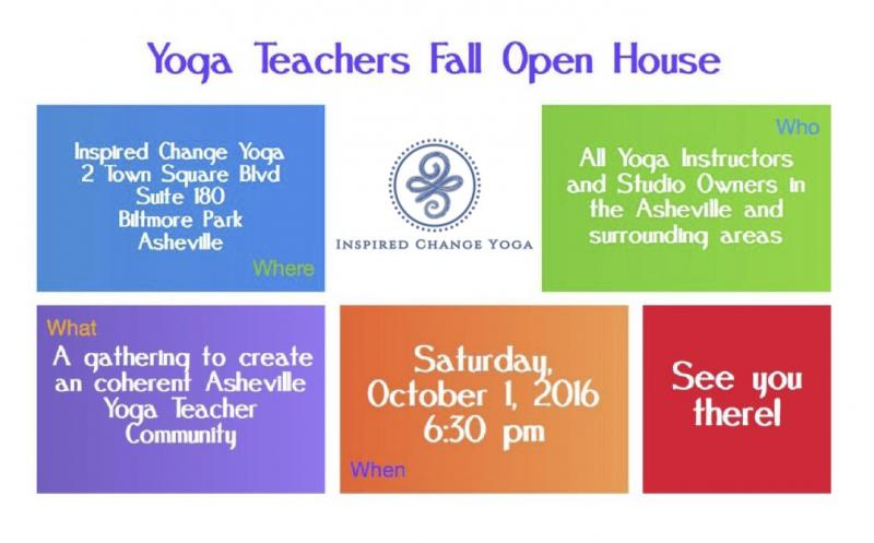 Yoga Instructor Open House