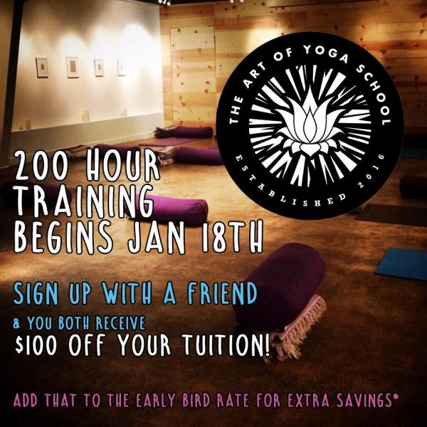 200 Hour Yoga Training, 2 Immersive Modules in Austin Texas 2017