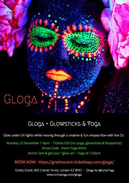 GLOGA - Glowsticks & Yoga