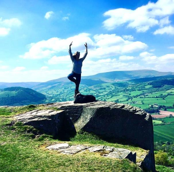 YOGA & WALKING IN THE BRECON BEACONS