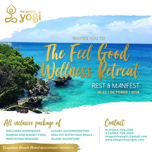 The FEEL GOOD WELLNESS retreat : REST and Manifest