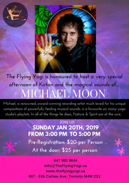 New Year's Kirtan with Michael Moon
