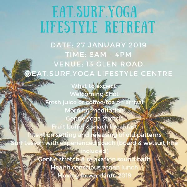 EAT.SURF.YOGA. lifestyle retreat