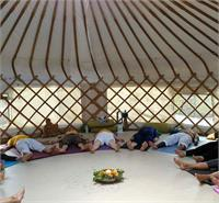 One Day Retreat in the UK Countryside: Yoga in a Traditional Yurt