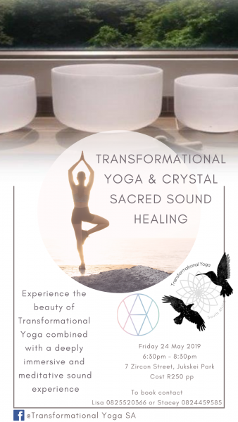 Transformational Yoga & Crystal Sacred Sound Healing