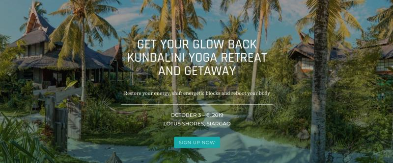 Get Your Glow Back Kundalini Yoga Retreat and Getaway in Siargao