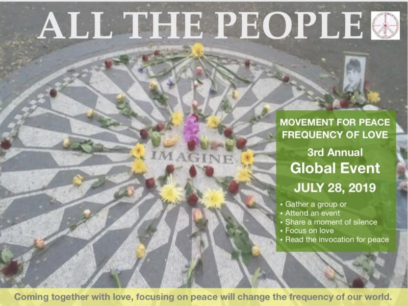 Global Event: Donation Based, A Collective Movement for Peace-
