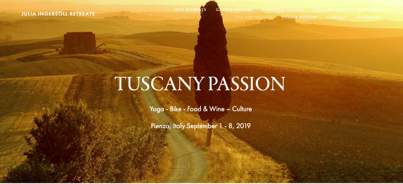 Tuscany Passion: Yoga - Bike- Food&Wine - Culture