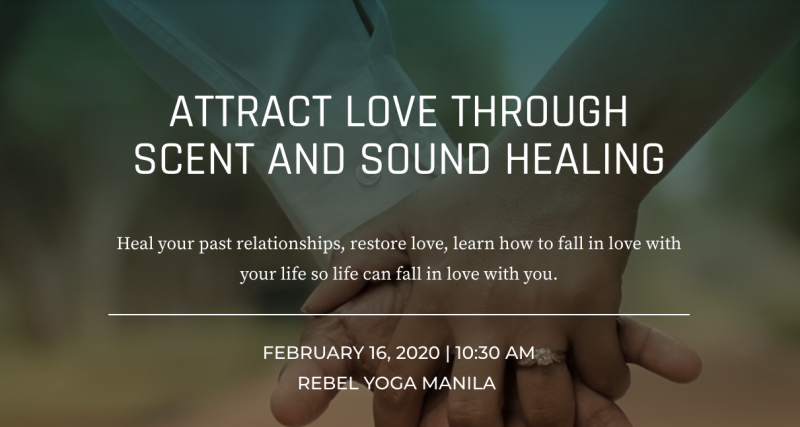 Attract Love through Scent and Sound Healing