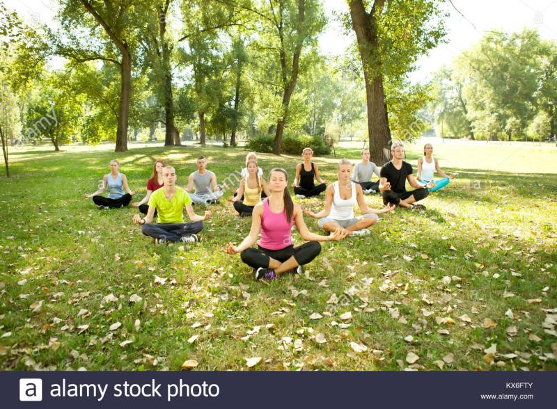 Yoga Flow...at the park. No experience necessary!